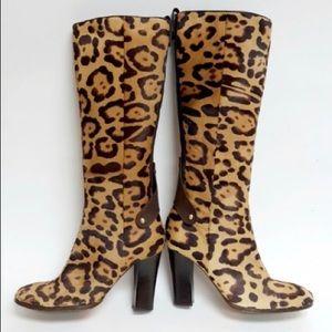 Valentino Haircalf Boots